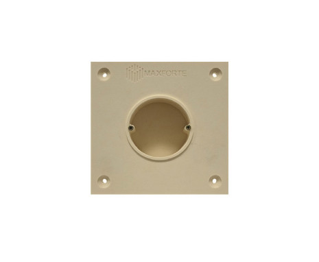 Soundproof electric socket - 1 socket