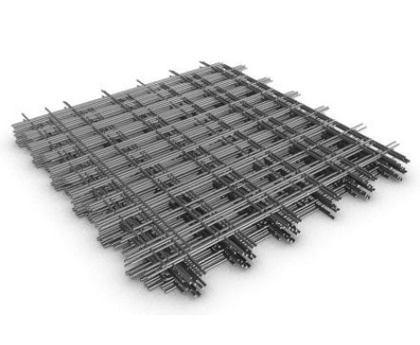 Сетка армирующая металлическая, ячейка 50х50мм. 0.5х2м, 4мм